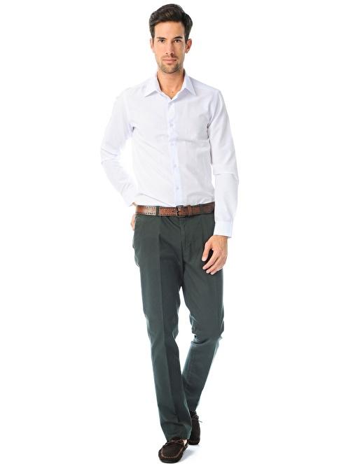 Cotton Bar Pantolon Yeşil